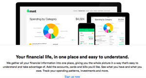 Mint.com is a great way to get a big picture look at your money, helping you to get your finances organized