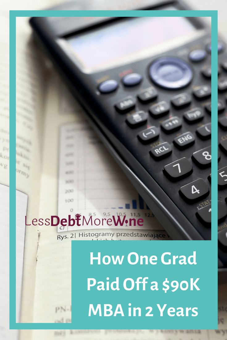 This is a guest post from Eric Rosenberg. he paid off $40,000 of student loan debt from his $90k MBA in two years and quit his day job