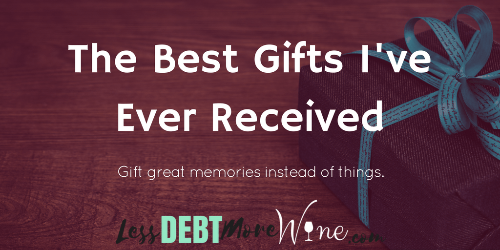 The best gifts aren't usually things