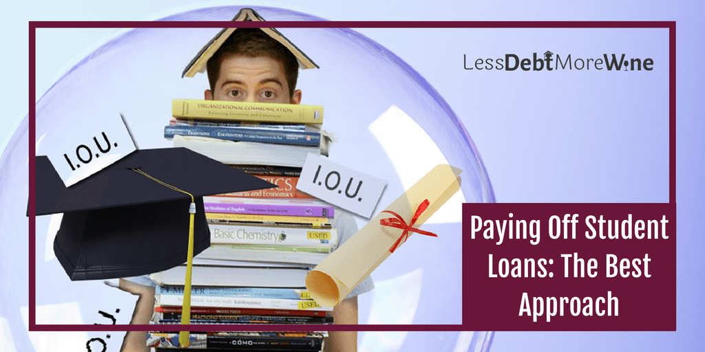 paying off student loans | paying off debt | student debt