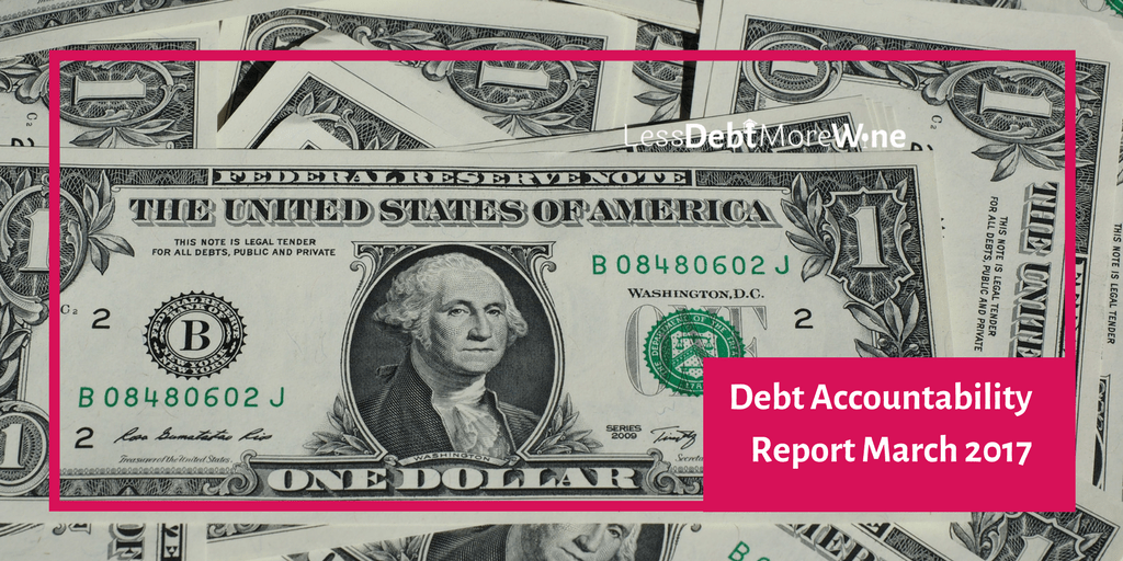 March 2017 debt accountability | money