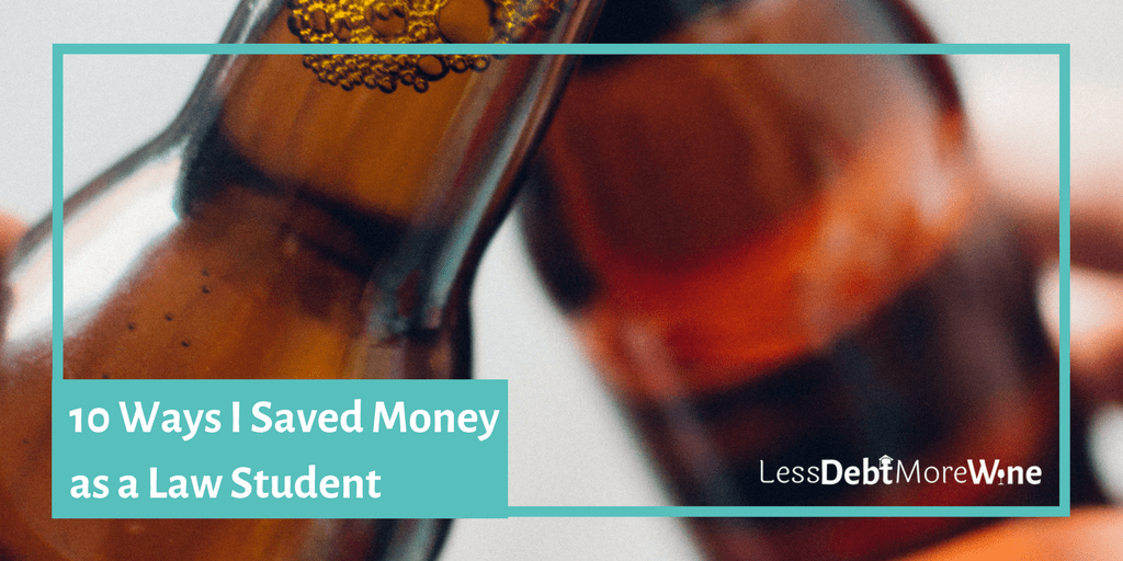 Saving money and law school it's hard to combine these two, but these are great ways to save and take advantage of being a law student.