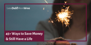 Love this save money checklist! Great ideas to start saving more money!