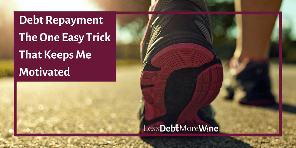 Great way to think about debt repayment! Figure out your magic number to feel like you are always making progress!