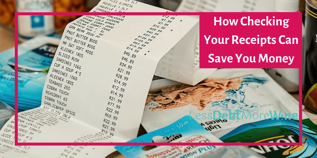 Why You Should Always Check Your Receipts