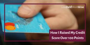 credit score | raising credit score | money management