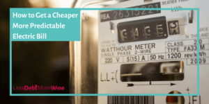 I had no idea these other payment plans existed from my electric company! | save money | frugal living