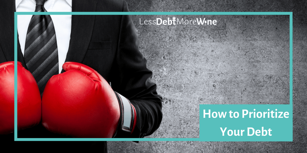 prioritize your debt | pay off debt | debt repayment | how to pay off debt