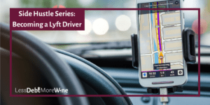 Great info on riding with Lyft and on becoming a Lyft Driver. | side hustle | make more money