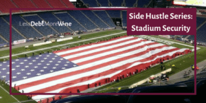 Find out what it is like working stadium security and how you can get the job