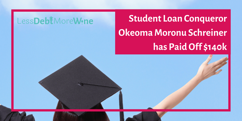 Student Loan Conquerors featuring Okeoma Moronu Schreiner of the Happy Lawyer Project | student debt | student loans | law school | get out of debt | debt repayment | pay off debt