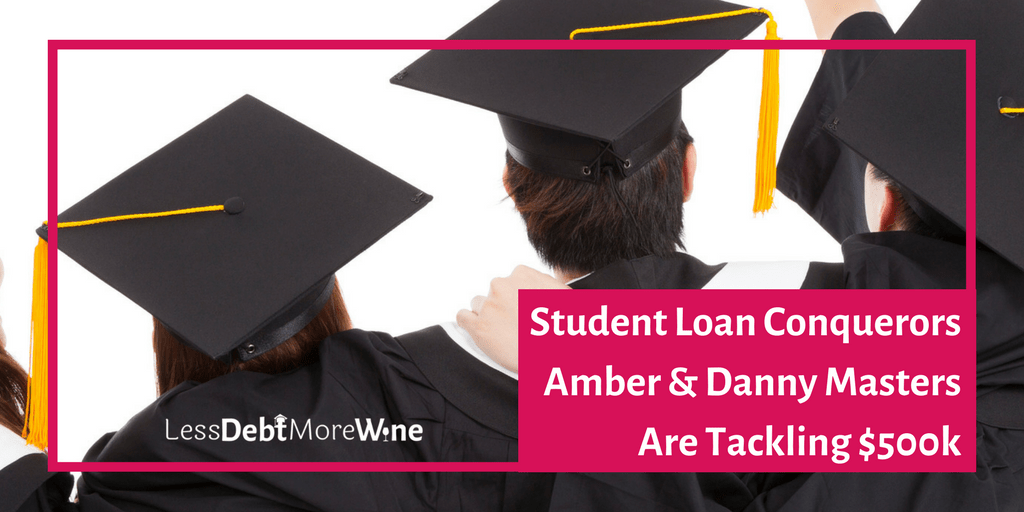 Student Loan Conquerors featuring Amber Masters and Danny Masters of RedTwoGreen | debt repayment | pay off debt | get out of debt | student debt | student loans | college debt