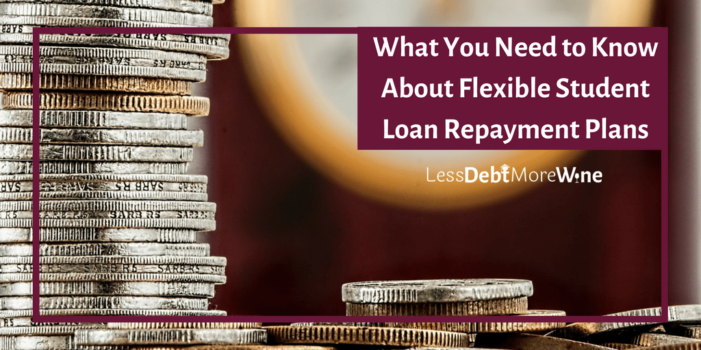 Flexible student loan repayment options are great for the short term, this post is great at explaining why they aren't the best for long term financial goals.