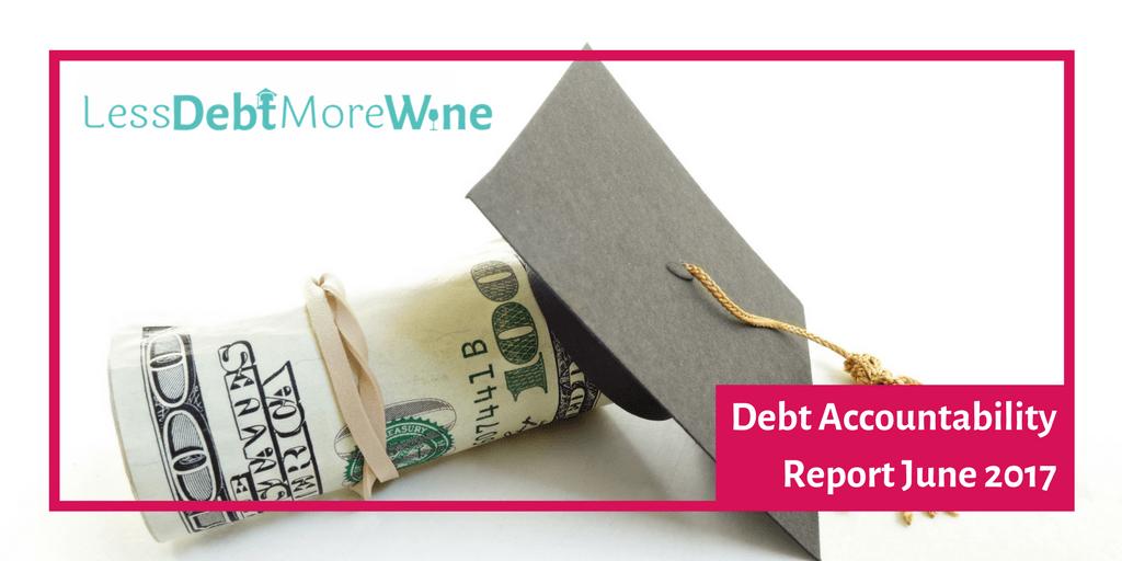 June 2017 Debt Accountability report   debt repayment   pay off debt