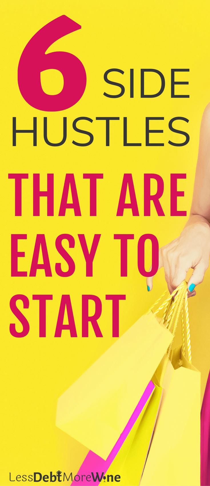 side hustle | earn more money | make extra cash