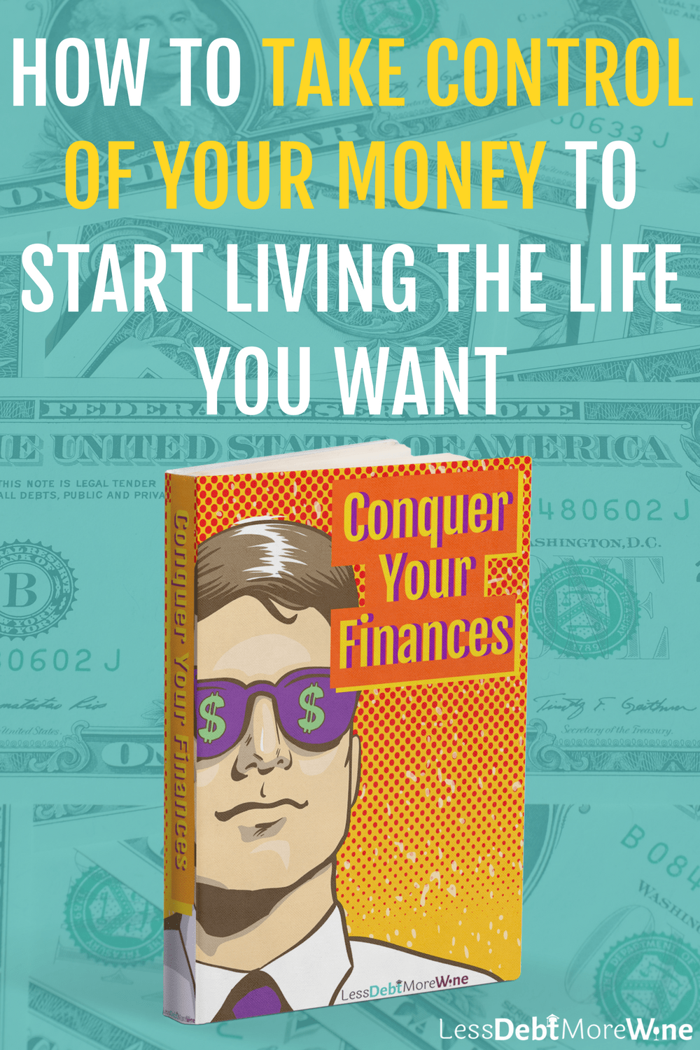 The Conquer Your Finances ebook will help you to better understand and manage your money so you can hit that goal of paying off debt or taking a dream vacation faster! pay off debt | personal finance tips | millennial money tips
