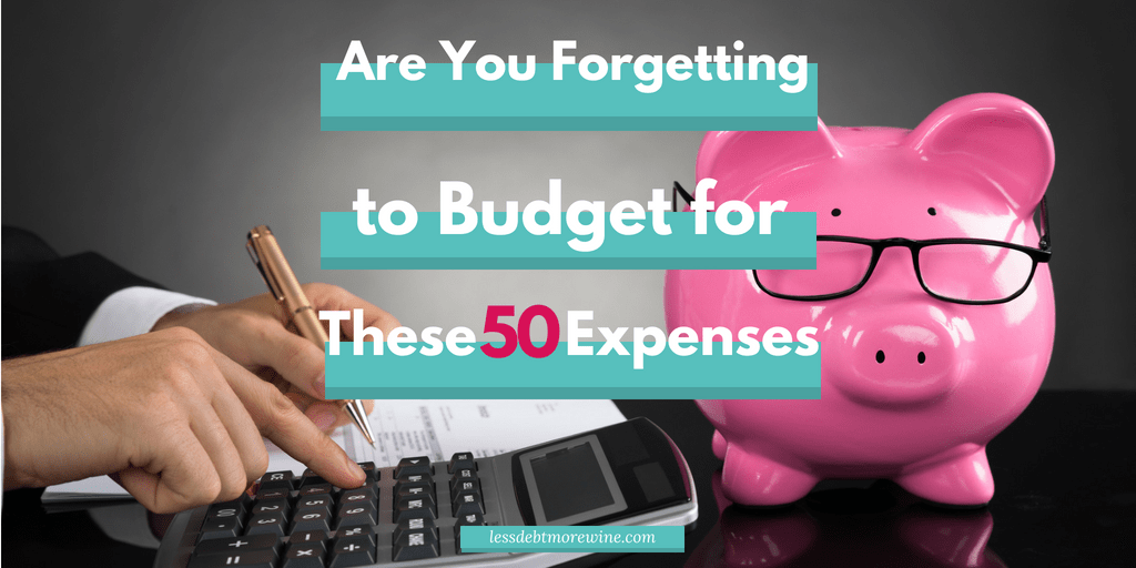 Remembering to budget for everything is the hardest, keep your finances stay on track ✔️ by remembering these expenses #budgettips